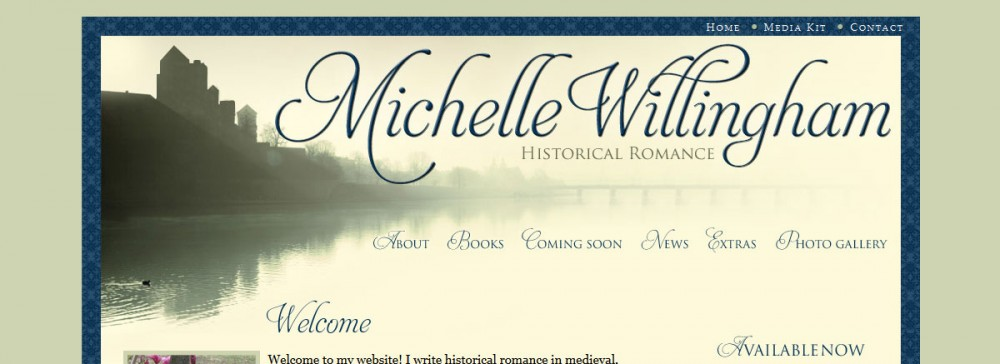 michelle-willingham-home-page-design