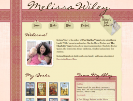 Author Melissa Wiley