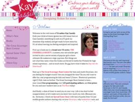 YA Author Kay Cassidy