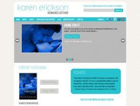 Author Karen Erickson