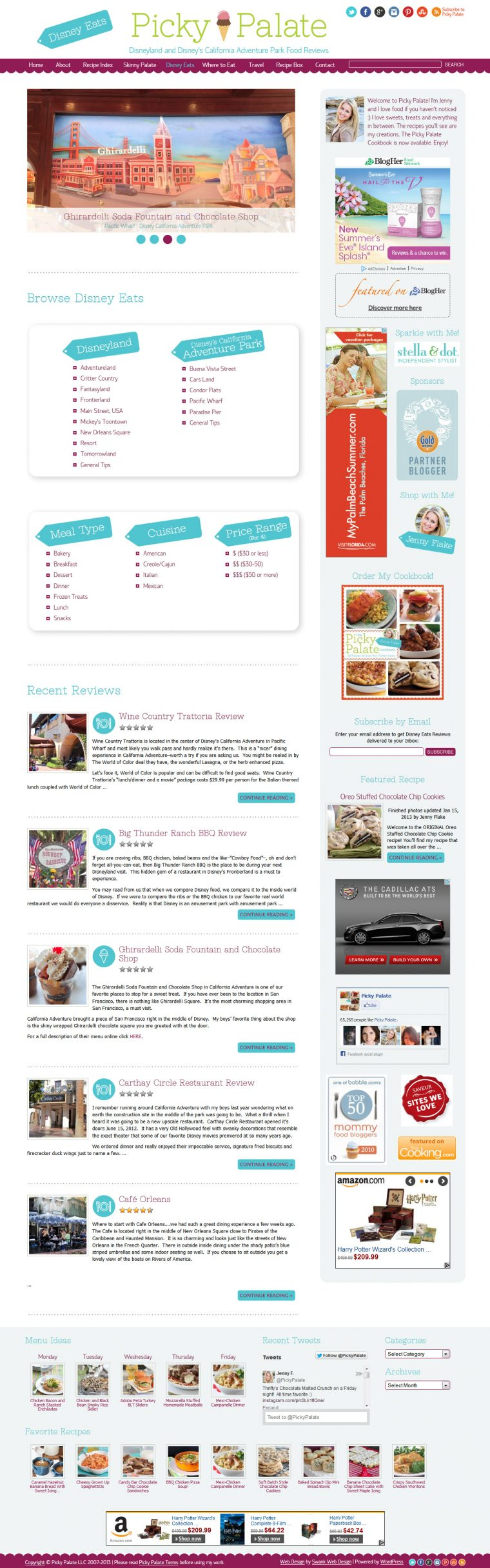 Disney Eats homepage