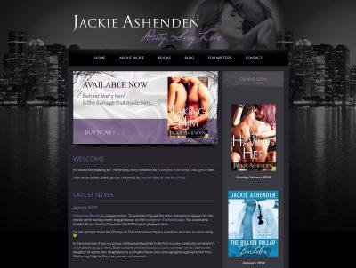 Author Jackie Ashenden