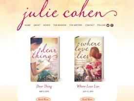 Romance Author Julie Cohen