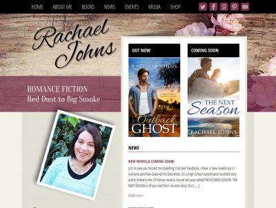 Author Rachael Johns