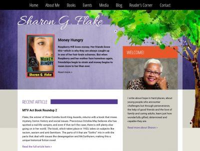 YA Author Sharon G. Flake