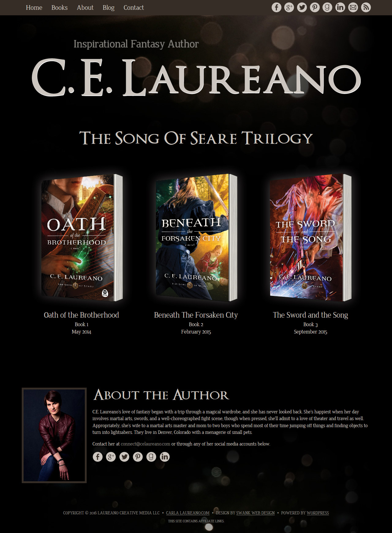 Fantasy Author C.E. Laureano