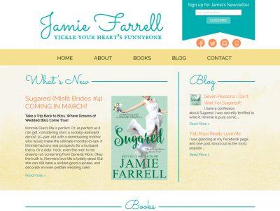 Romance Author Jamie Farrell