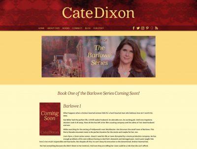 Author Cate Dixon