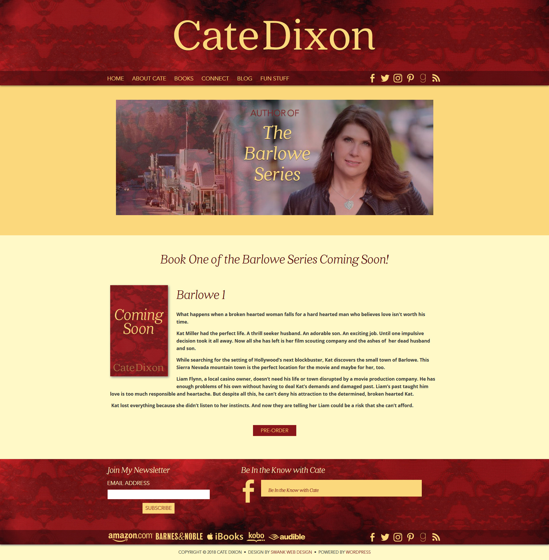 Author Cate Dixon