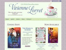 Romance Author Vivienne Lorret