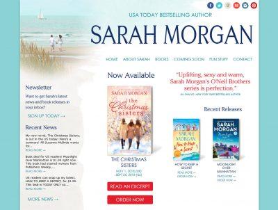 Romance Author Sarah Morgan