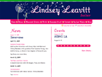 Lindsey Leavitt - News and Events